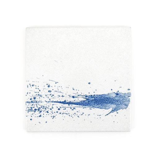 Stains ceramic square flat plate, w280