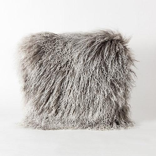 Cork cushion - grey snow top