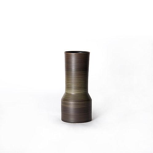 Tower vase- narrow top (dark grey)