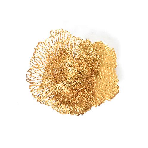 Laser cut flower wall sculpture, w500