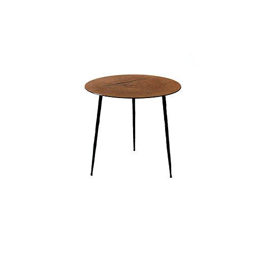 End grain oak coffee table