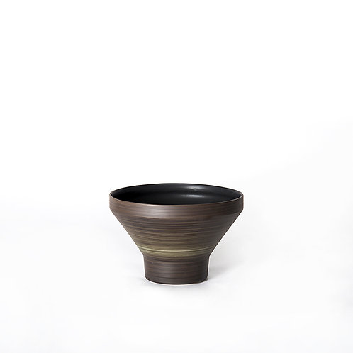 Funnel bowl- tall (dark grey)