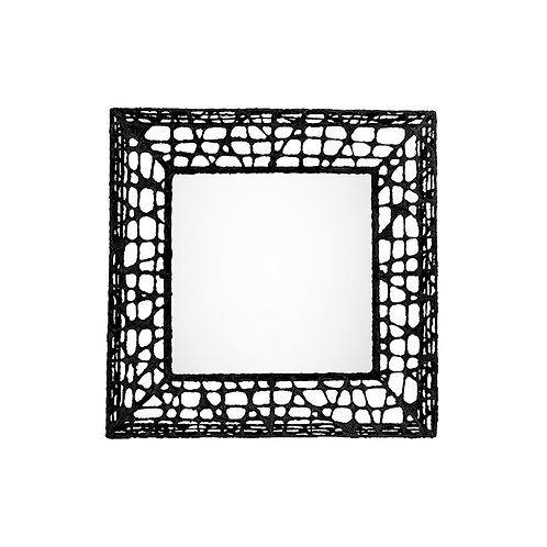 C u-c me square mirror frame (brown)