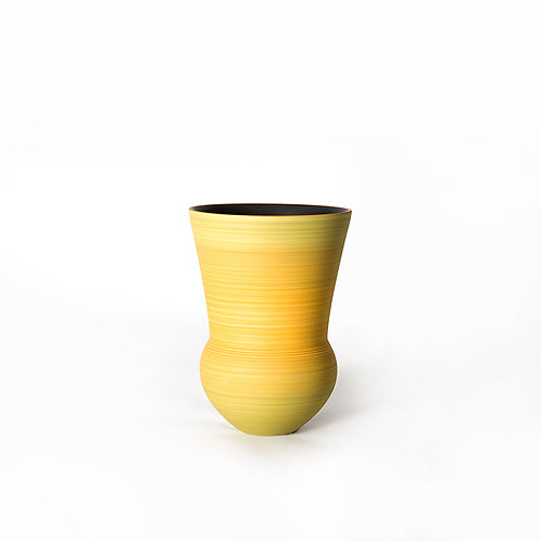 Bell vase- tall (yellow)