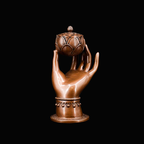 Hand of guanyin burner w/ box