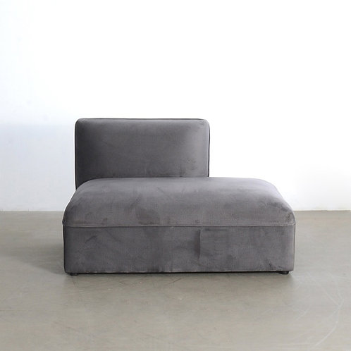Plump sofa - right open ended