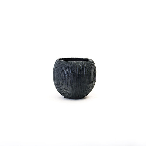 Cement vertical vase