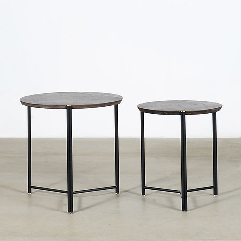 TRIO nesting end table, set of 2
