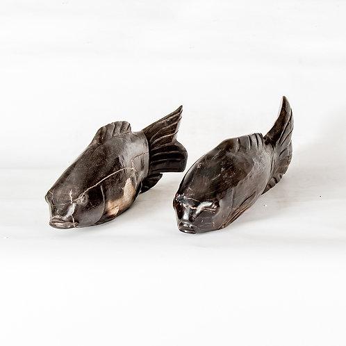 Petrified wood fish 7 (large)