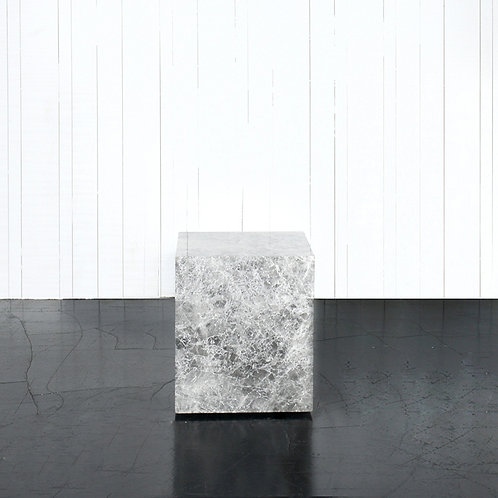 Marble block w/casters