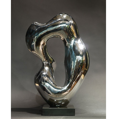 Space & form no. 1 - stainless steel