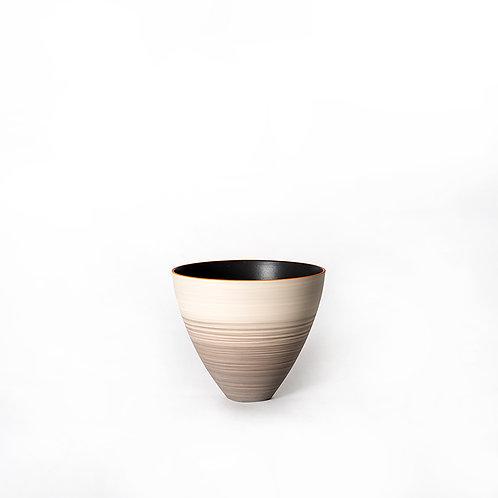 Top vase - short (light grey)