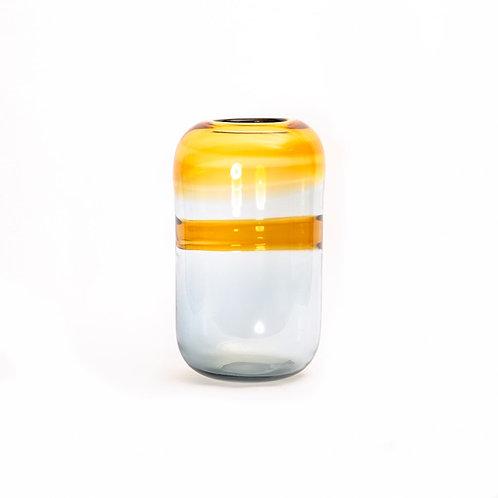 Haze glass vase