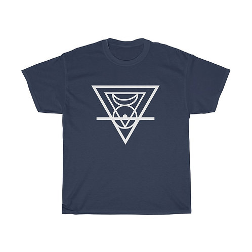 MAL - Cycle of Fusion Symbol Unisex Heavy Cotton Tee
