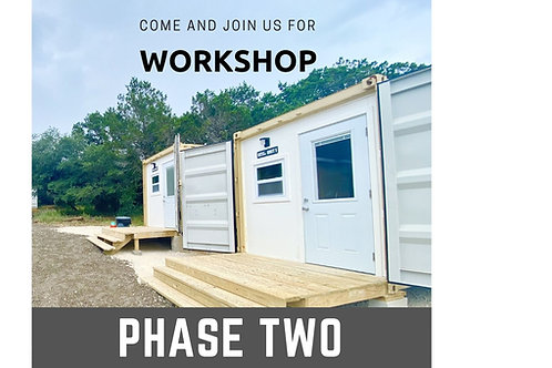 WORKSHOP: Helotes TX July 1st-4th