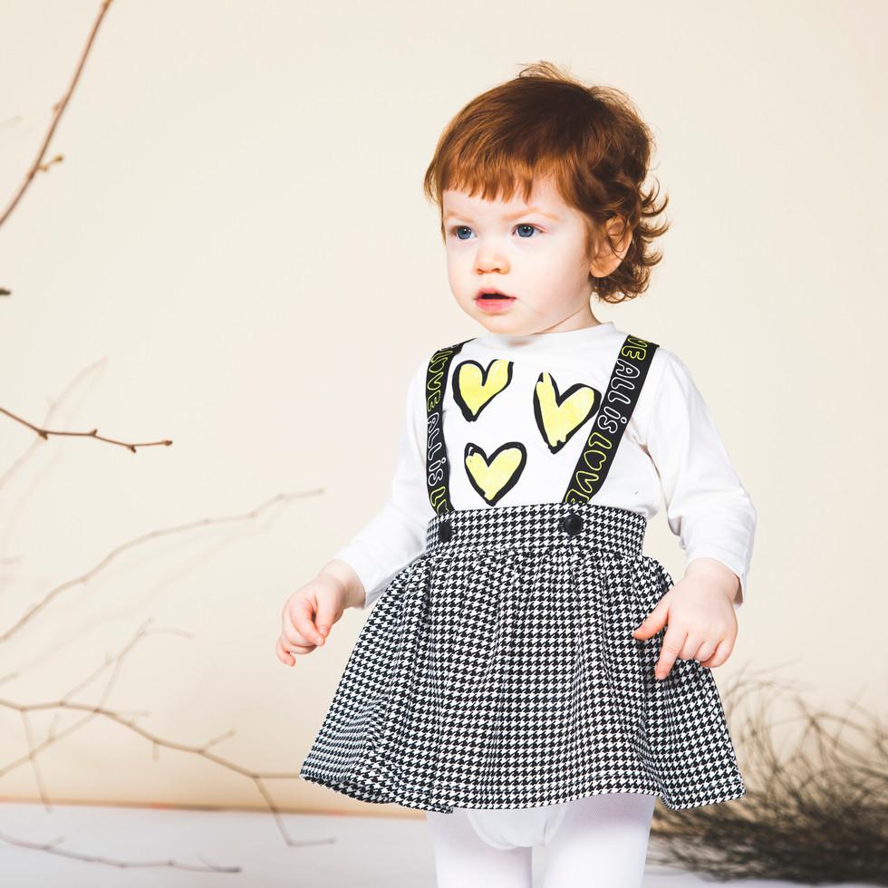 Yours Abbigliamento - abiti da bambina - Coll. Autunno Inverno Newborn 0 - 30 mesi Yours by 02Tandem