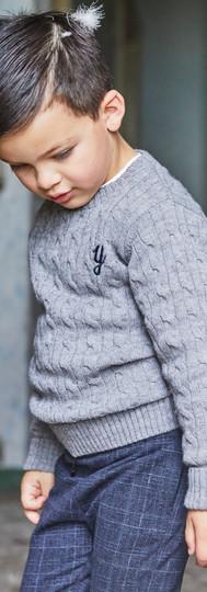 Yours Abbigliamento - bambino con abito elegante - Coll. Autunno Inverno Newborn Yours by 02Tandem