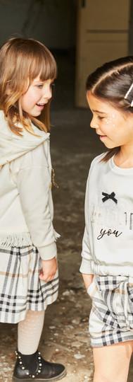 Yours Abbigliamento - bambine con abiti - Coll. Autunno Inverno Baby 3-7 anni Yours by 02Tandem