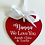 Thumbnail: Valentines Personalised Love Heart 15cm