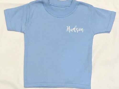 Personalised T-Shirt - Blue
