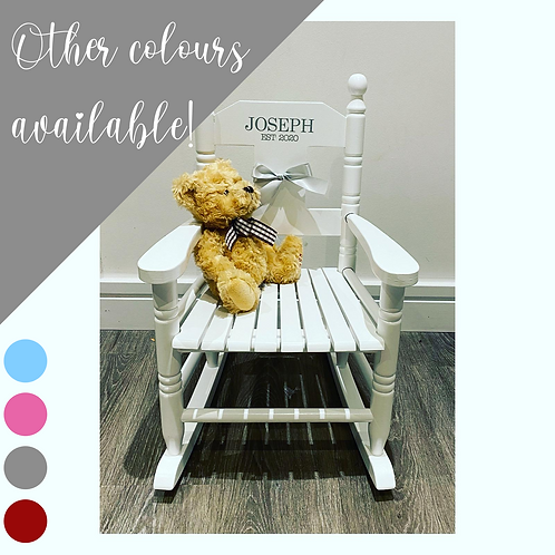 Children's Personalised Rocking Chair