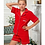 Thumbnail: Red Luxury Cotton Short Pyjamas Children and Adult