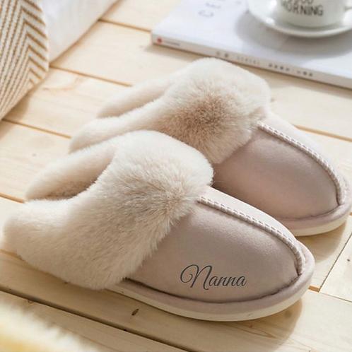Personalised Luxury Slippers