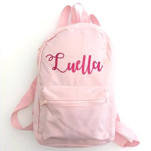 Personalised Rucksack -Pink