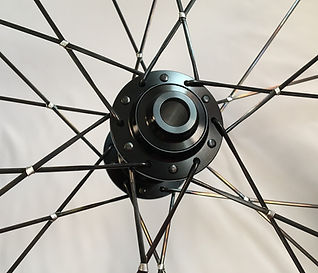 Wire tied and soldered disc wheel Jet Bicycle Wheel