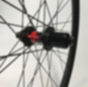 DT 240 CLD Boost rear hub DT Aerolite spokes wire tied and soldered Jet Bicycle Wheels