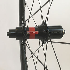 Knight Composites 35 TLA tubeless DT 240 rear hub Jet Bicycle Wheels