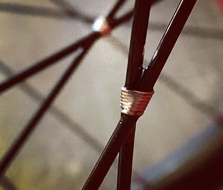Wire tied and soldered spokes Jet Bicycle Wheels