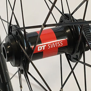 DT 240 CLD Front hub DT Aerolite spokes wire tied and soldered Jet Bicycle Wheels