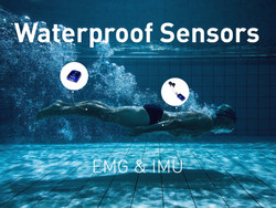Underwater EMG + ACC & IMU systems.