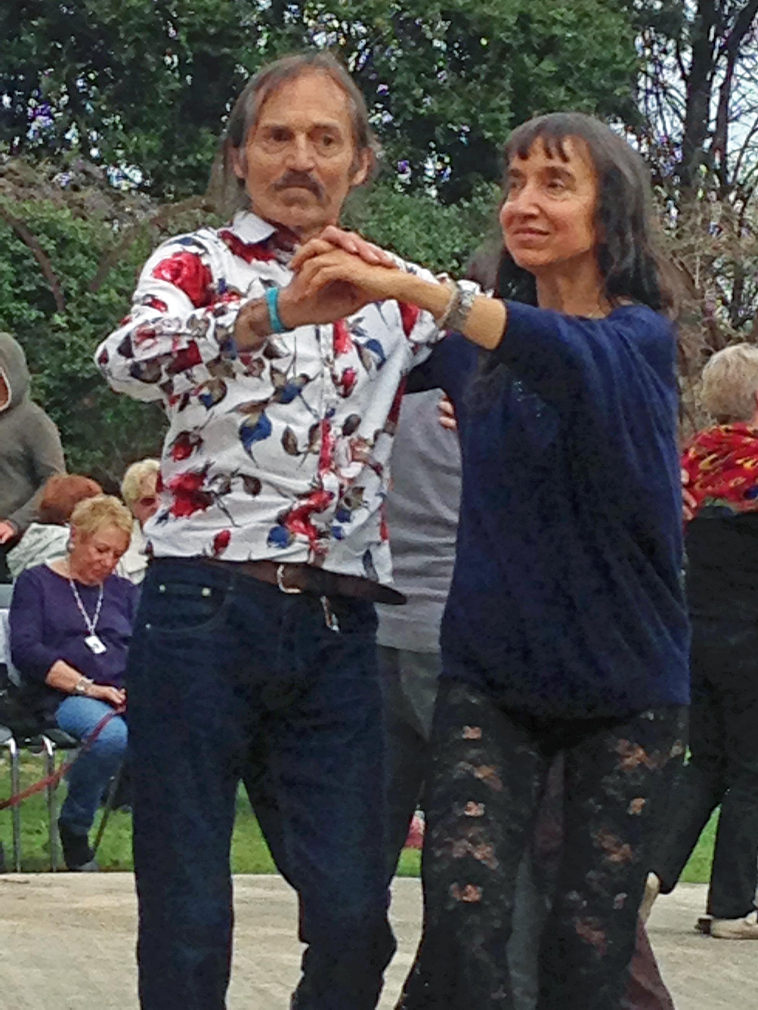 Vero et Jean en bal