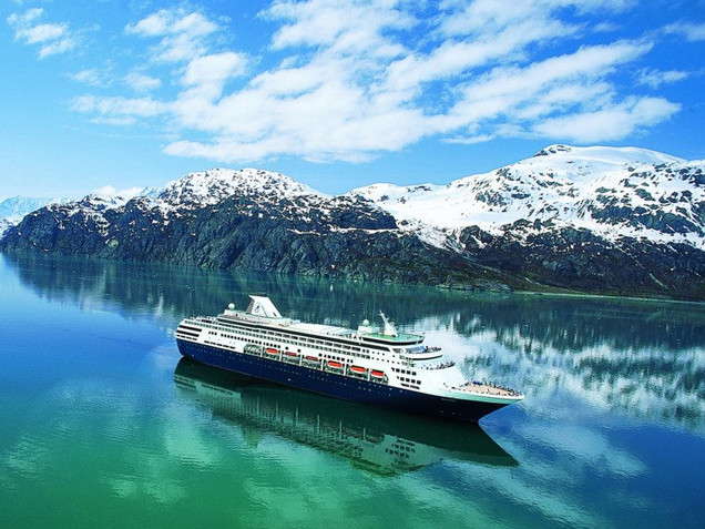 STITCHIN' ON THE HIGH SEAS - ALASKA