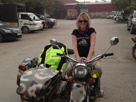 The Motorcycle Journey Begins
