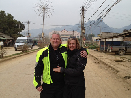 At the Chinese Border