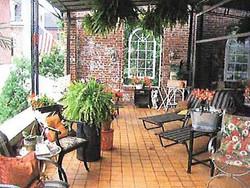 Tiled Outdoor Deck