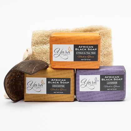 African Soap Bath Set