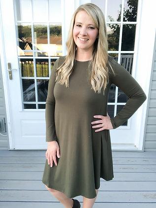 Tamara Dress in Olive