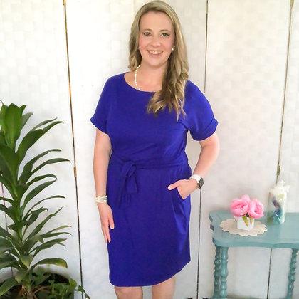 Cherie Dress in Blue