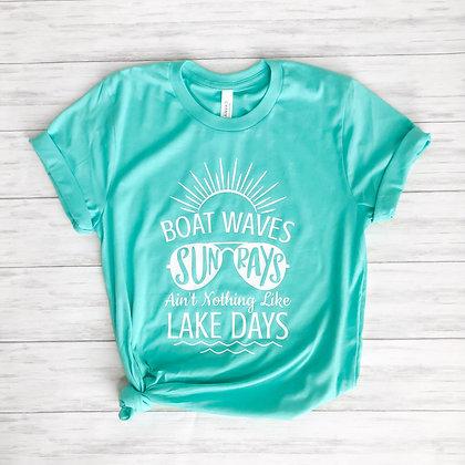Boat Waves Tee