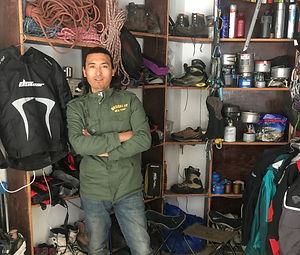 Equipment rent at Mero Expedition, Ladak