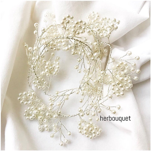 Head Piece-Pearly