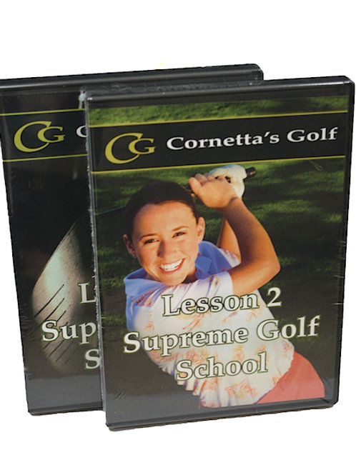 Supreme Golf Swing™ DVD  Set - Lesson 1&2