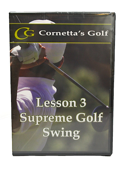 Supreme Golf Swing™ DVD - 6 month master plan