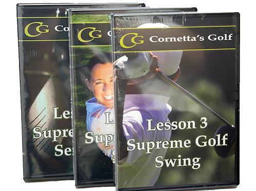 Supreme Golf Swing™ Master DVD Set