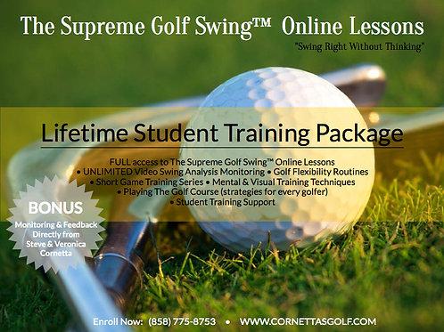 Supreme Golf Swing™ Training Program - Lifetime