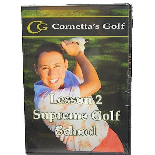 Supreme Golf Swing™ DVD & Workbook - Lesson 2